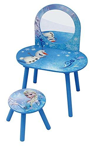 Unbekannt Fun House 712419 Frisiertisch mit Stuhl, Motiv: Die Eiskönigin