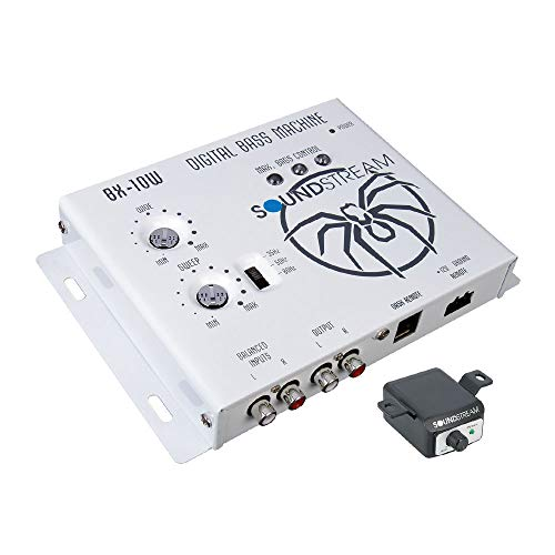 Soundstream BX-10W Digital Bass Reconstruction Processor with Remote (White)
