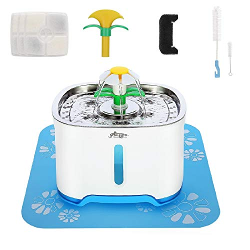 Aleuto Cat and Dog Water Fountain