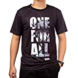 One for All,Deku,My Hero Academia Anime T-Shirts,Cosplay or Custome Anime Shirts,Black Anime Shirt (XL)