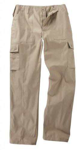 Pantaloni cargo con tasche in stile militare, per...