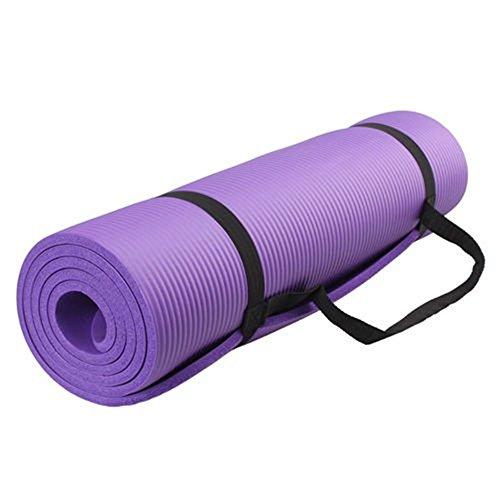 BigTron universale 10 mm di spessore ad alta densità NBR Comfort Esercizio Yoga Mat no irritating-smell Eco-friendly resistente antiscivolo tappetino yoga PER allenamento fitness