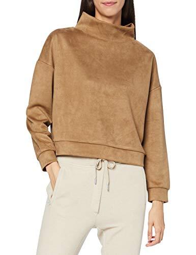OPUS Damen Gelour Sweatshirt, Maple, 40-44