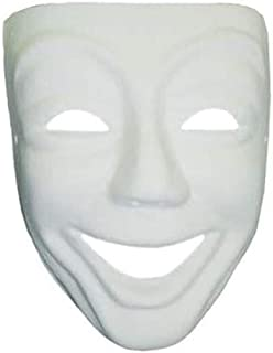 Artemio Masque Venise Smile plâtre à Décorer