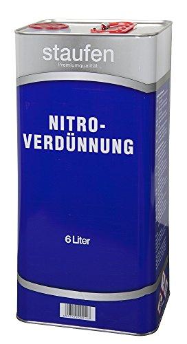 Staufen Nitro Verdünnung 6 Liter Verdünner Reiniger Nitroverdünnung Premium