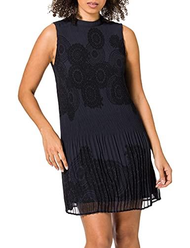 Desigual Damen Vest_Toronto Casual Dress, Green, XL