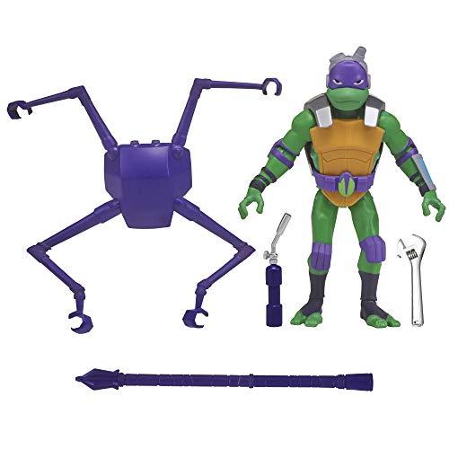 Rise of the Teenage Mutant Ninja Turtles Spider Shell Donatello Action Figure, Multicolor