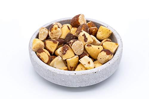 Morceaux de noix du Brésil bio Fairtrade – 1kg – Collection sauvage de la forêt tropicale bolivienne – Crues