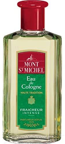 Mont St Michel - Parfumeur depuis 1920 - Eau de Cologne Haute Tradition - Parfum Fraîcheur Intense - Le flacon de 250ml