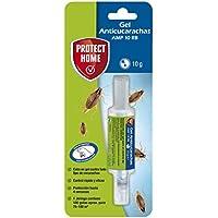 PROTECT HOME Gel Anticucarachas, Cebo de accion inmediata, eficacia Total, 1 jeringuilla Anti Cucarachas, Azul, 1 x 10 Gramos