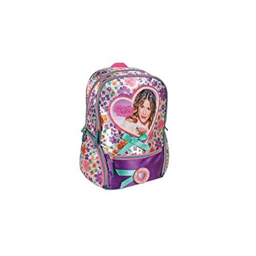 Zaino scuola americano Mochila casual Violetta cod. 2103001672