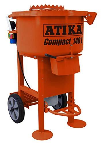 Preisvergleich Produktbild ATIKA Compact 140 Tellerzwangsmischer Betonmischer Zwangsmischer Mischer **NEU**