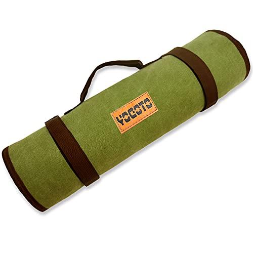 【YOGOTO】 ハンマー ペグ ケース 収納 キャリーバッグ 頑丈 折り畳み可 アウトドア収納袋 Y型ペグ 一括収納 多機能 大容量