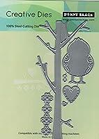 ペニーブラック 51-596 ペニーブラック ダイバード/バーチ、鳥と枝