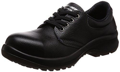 [ミドリ安全] 安全靴 JIS規格 女性用 短靴 プレミアムコンフォート LPM210 ブラック 23.5 cm 3E