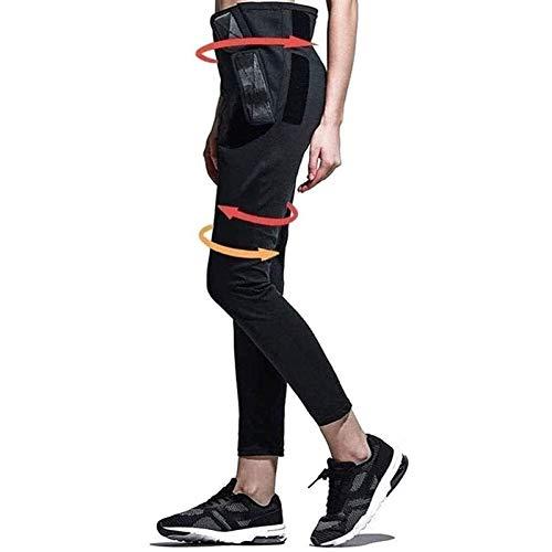 Spodnie WyszczuplająCe Spodnie do Sauny, Damskie Spodnie WyszczuplająCe, Neoprenowe Spodnie do Jogi Fitness Spodnie Sportowe z Wysokim Stanem do Treningu Biegowego