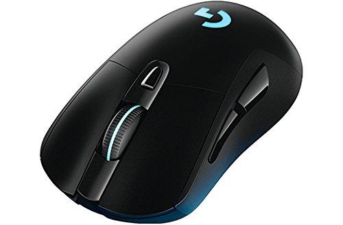 Logitech G403 Mouse per Giochi Ottico Wireless per PC, MAC, USB, Connessione a 2.4 GHz, Nero
