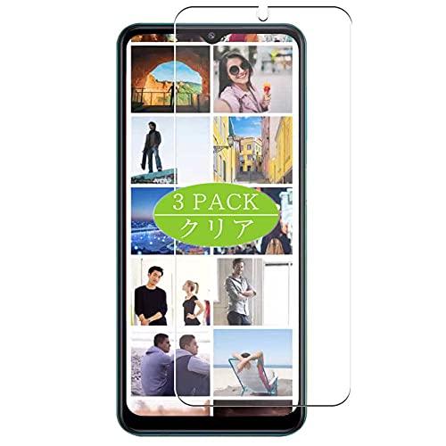 VacFun 3 Piezas Claro Protector de Pantalla, compatible con Samsung Galaxy F12, Screen Protector Película Protectora(Not Cristal Templado)