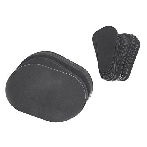 MERIGLARE 80 Stücke Glatte Beine Haut Pad Arm Gesicht Haarentfernung Entferner Set