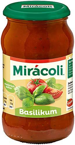 MIRÁCOLI Pasta Sauce Basilikum, 6 Gläser (6 x 400g)