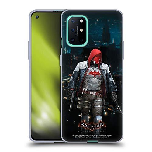 Head Case Designs Oficial Batman: Arkham Knight Capucha Roja Personajes Carcasa de Gel de Silicona Compatible con OnePlus 8T 5G