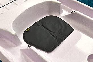 Skwoosh Gel Kayak Seat Cushion for Sitting Comfort While Paddling, Boat and Fishing Made in USA (Black)