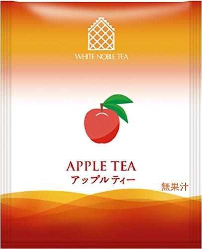 三井農林 ホワイトノーブルティー アップル アルミティーバッグ 50袋 110g