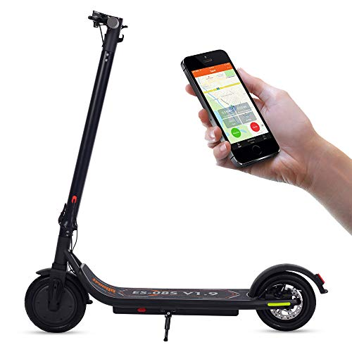 Electric Scooter Adults, APP Connection, LCD Display,Fixed Speed Cruise,3 Speed Adjustable,8.5 inch...