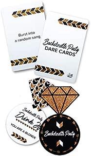 South Island Bachelorette Party Card Games Kit | Set of Two Different Bachelorette Card Games