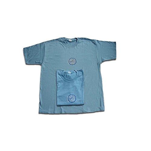 Tucuman Aventura - Shirts m/c Coton Africain Cercle Bleu (Bleu, XL)