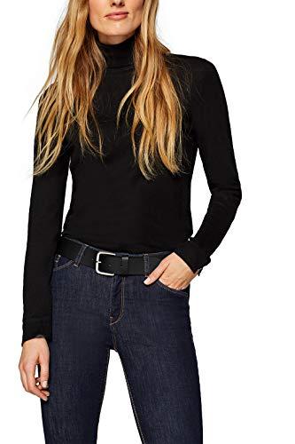 ESPRIT Damen Basic Gürtel, 001/BLACK, 85