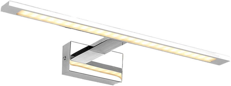 BAIF Badezimmerspiegelleuchten LED-Spiegelscheinwerfer, Spiegelschrank Spiegelleuchte Bad Make-up Schminktisch Spiegelleuchte (Farbe  Positiv Weißlight-10w-48cm)