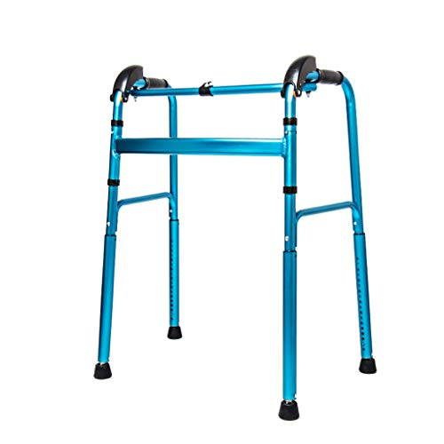 WUYUESUN Walker discapacitados Rollerator Marco de Ancianos de pie Caminar Antideslizante bastón con el Hospital