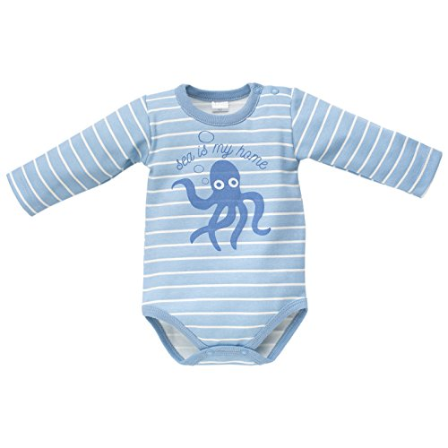 Pinokio - Body - para bebé niño blanco y azul 68 cm