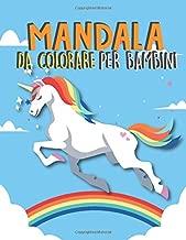 Mandala Da Colorare Per Bambini: Unicorno