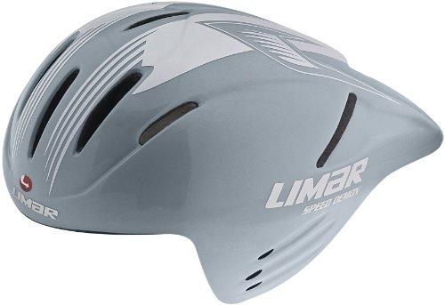 Limar Helmet - Casco para Bicicleta de Paseo, Color Plateado, Talla L...