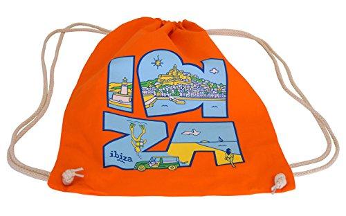 Mochila Sac Ibiza (Naranja)