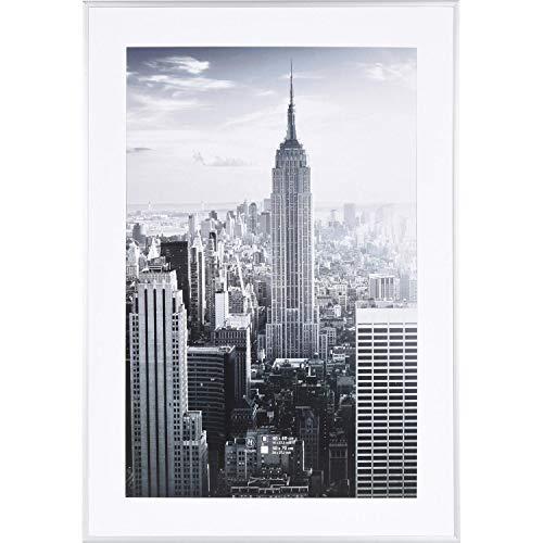 Henzo Manhattan Bilderrahmen, Metall, Silber, 50x70 cm