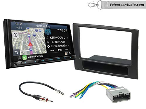 Best Prices! Kenwood Excelon DNX996XR Double Din Radio Install Kit With Apple CarPlay, Android Auto,...