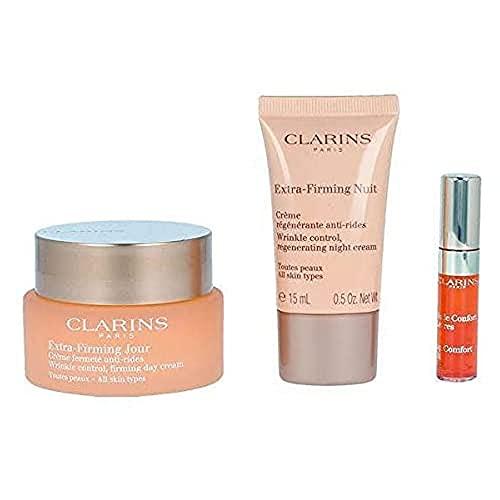 Clarins EXTRA FIRMING JOUR TOUTES PEAUX LOTE 3 pz