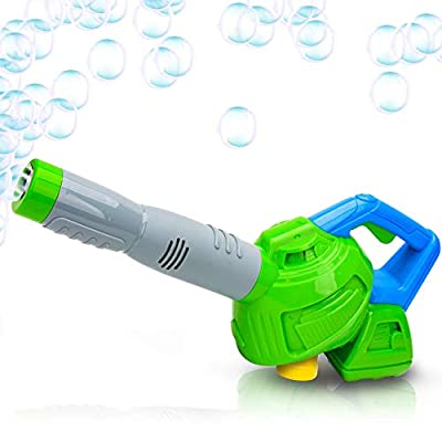 ArtCreativity Leaf Bubble Blower with Bubble Solution Included, Fun Bubbles Blowing Toys for Kids, Best Birthday Gift for Boys and Girls from ArtCreativity