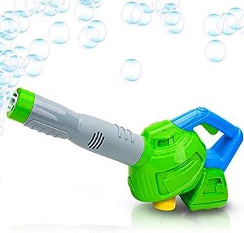 ArtCreativity Leaf Bubble Blower with Bubble Solution