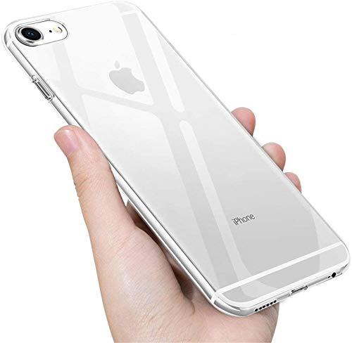 UBEGOOD Handyhülle kompatibel mit iPhone 6S/iPhone 6 Hülle, Vaguo6TPU4d Anti-Shock Kratzfeste iPhone 6S Silikon cover Premium Schutzhülle iPhone 6 Bumper Hülle für iPhone 6S Hülle Cover-Transparent