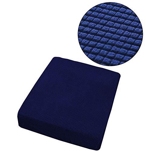 Yosemite - Funda elástica para sofá de 1/2/3/4 Asientos, Color Azul Oscuro