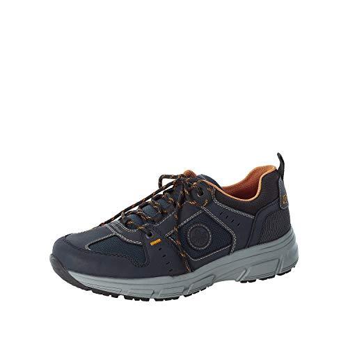 Rieker Hombre Zapatos Bajos B6922, de Caballero Zapatos Deportivos con Cordones,Plantilla Desmontable,Zapato bajo,Azul (Blau / 14),40 EU / 6.5 EU