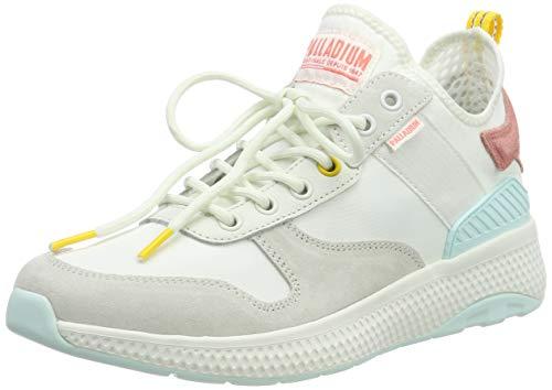 Palladium Damen Axeon Army R W Sneaker, Weiß (Star White L47), 37 EU