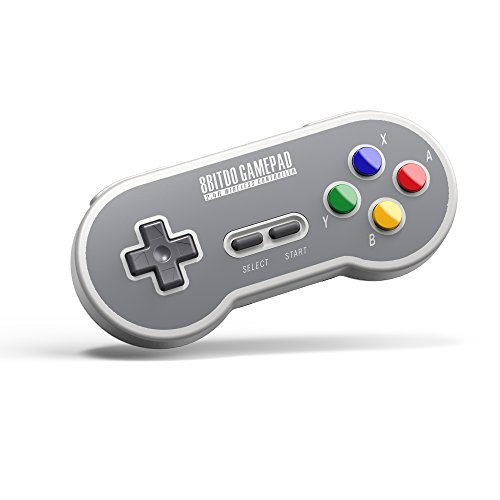 8Bitdo SF30 2.4G Wireless Controller for SFC Classic Edition (Electronic Games) [Importación inglesa]