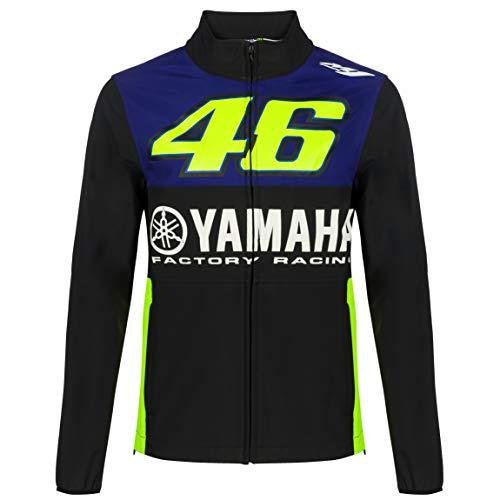 2019 Valentino Rossi VR46 Herren Softshelljacke Mantel Yamaha Factory Racing