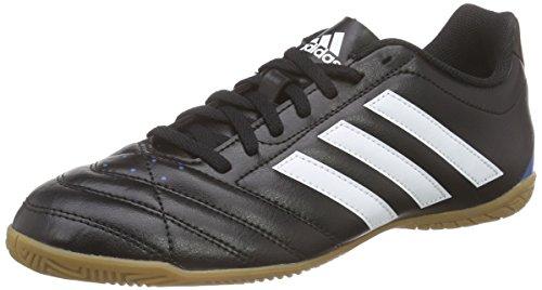 adidas Herren Goletto V In Fußballschuhe, Schwarz (Core Black/Ftwr White/Solar Blue2 S14), 40 EU