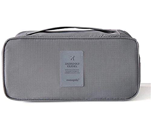 Ducomi® Travel Secret Reise-Organizer, Unisex, Maße: 26 x 13 x 12 cm, grau (Grau) - 0647903002412